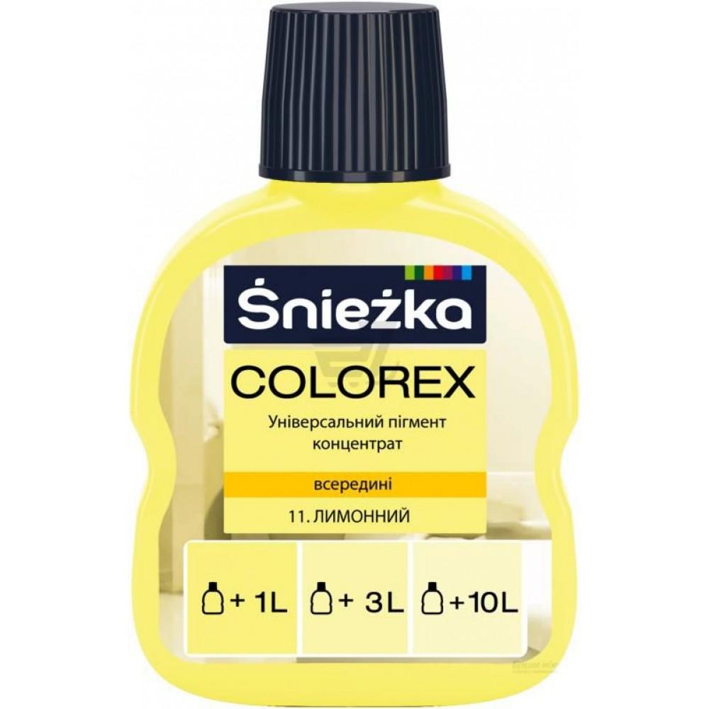 Барвник Sniezka Colorex 0,10л., 11* лимонний