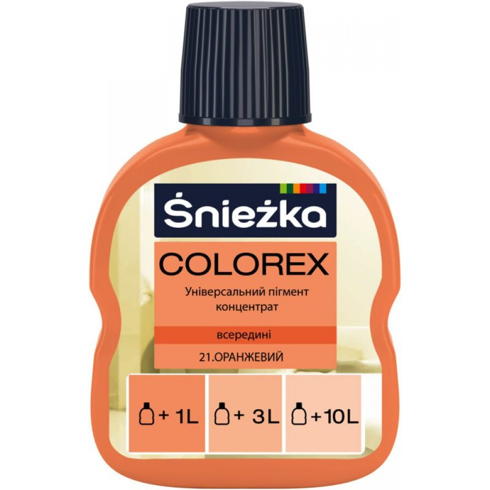 Барвник Sniezka Colorex 0,10л., 21* помаранчевий