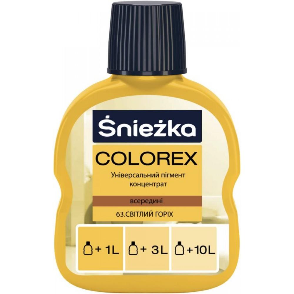 Барвник Sniezka Colorex 0,10л., 63 горіх ясний
