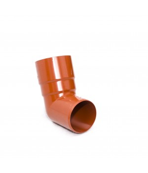 Колено трубы 125 мм, 67 градусов