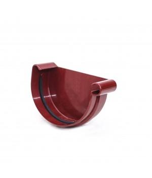 Заглушка желоба правая 125 мм