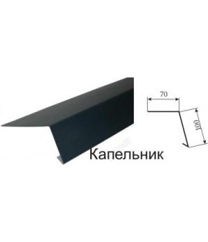 Капельник для кровли 0,4 мм (Цинк)