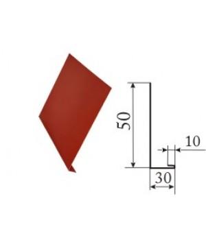 L планка 0,4 мм (Цинк)