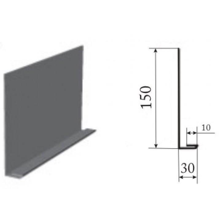 Лобовая планка  0,4 мм (Цинк)