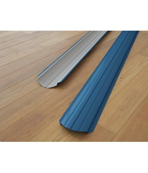 Металлический штакетник односторонний (глянец)